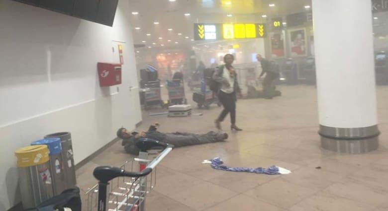 ببيان منسوب.. داعش يتبنى تفجيرات بروكسل: إطلاق نار تلاه تفجير احزمة ناسفة والضحايا أكثر من 230