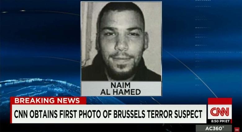 CNN تحصل على أول صورة لمشتبه به بتفجيرات بروكسل ويحمل الجنسية السورية