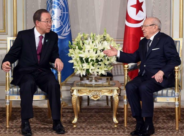 إبّان زيارة بان كي مون.. البنك الدولي يعلن استثمار 4 مليارات دولار في تونس