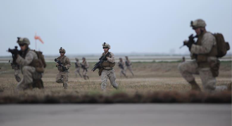 """أمريكا تعلن قتل المسؤول عن الهجوم الصاروخي لـ""""داعش"""" على """"مارينز"""" بالعراق"""