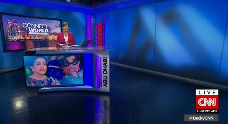 شبكة CNN تكشف عن مركزها الإخباري المتطور في أبوظبي: استوديو بتصميم عصري وأحدث التقنيات