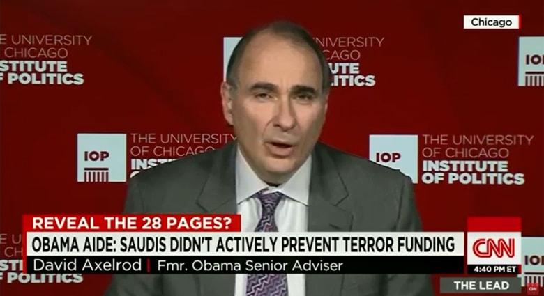 """مستشار سابق بالبيت الأبيض لـCNN: السعوديون أوضحوا بحزم ردة فعلهم على """"قانون 11 سبتمبر"""".. وأوباما سيفكر بعمق قبل توقيعه"""