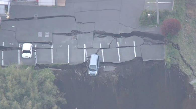 """ما الذي حصل بـ """"جزيرة السيارات"""" بعد الزلازل التي شهدتها كيوشو؟ وكم ستؤثر على الاقتصاد الياباني"""