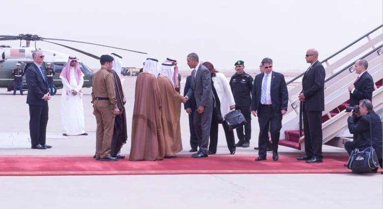 جدل حول عدم استقبال الملك سلمان لأوباما في المطار.. ومسؤول أمريكي: لم نعتبرها إهانة