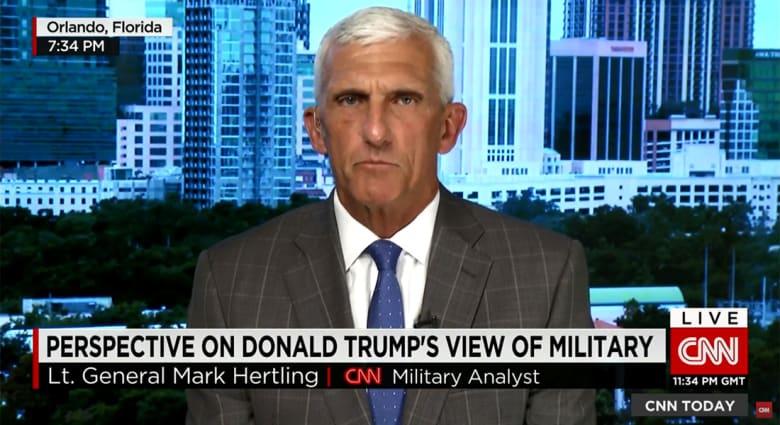 المحلل العسكري بـCNN: فوز ترامب بالرئاسة قد يؤدي لاستقالات عسكرية لأن الجندي المحترف لن ينفذ أوامر غير قانونية