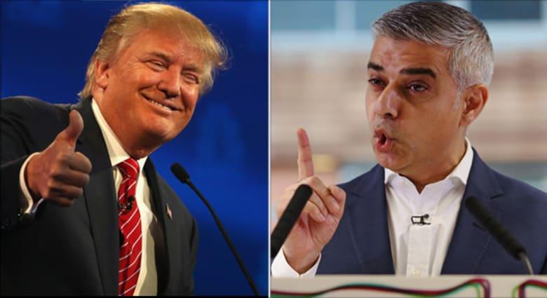 """عمدة لندن المسلم يرفض دعوة ترامب بجعله """"استثناءً"""" لقاعدة حظر دخول المسلمين لأمريكا"""