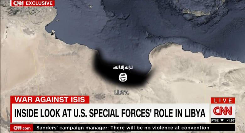مسؤولون أمريكيون: عناصر داعش بليبيا بين 4 إلى 6 آلاف مقاتل.. وشهود لـCNN: قوات أمريكية خاصة حول مصراته