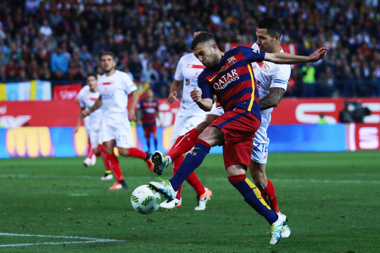 برشلونة يتوج بكأس الملك في مدريد