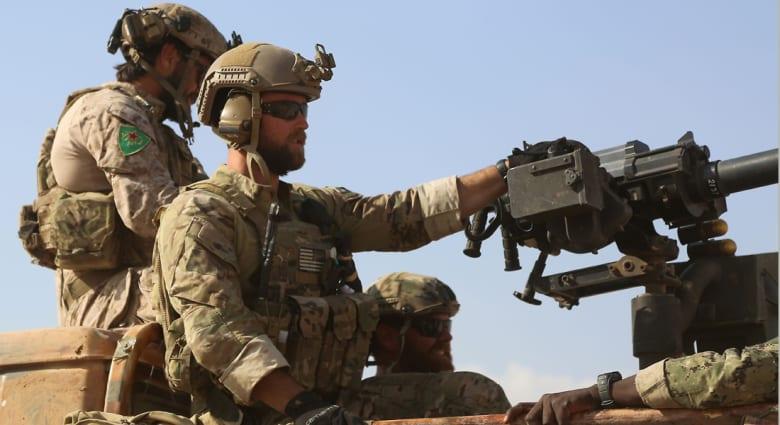 """ستيف وارن: وضع جنود أمريكيين شعار """"YPG"""" مرفوض.. وتركيا: ننصحهم بوضع شعارات داعش والقاعدة وبوكوحرام"""