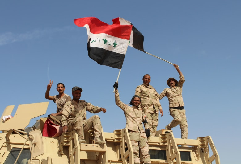 """بالفيديو: القوات العراقية تعلن التقدم على جسر التفاحة والنعيمية وبدء """"الصفحة الثانية"""" لدخول الفلوجة"""