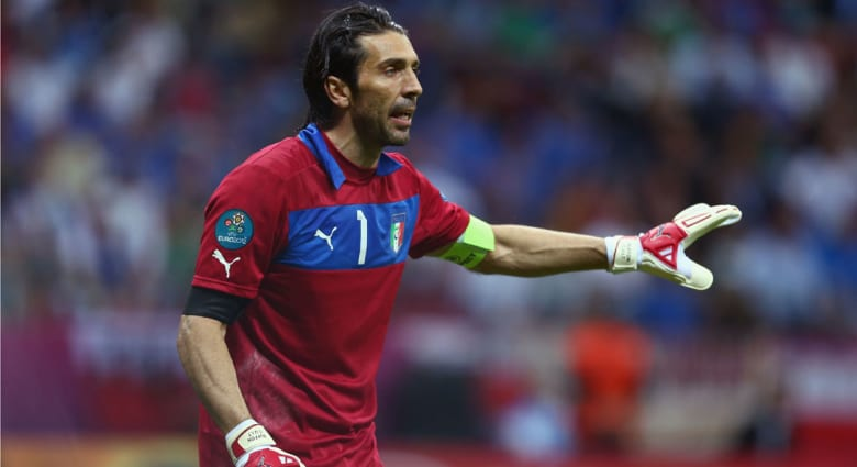 منتخبات اليورو: بوفون يحمل آمال إيطاليا في بطولته الأخيرة