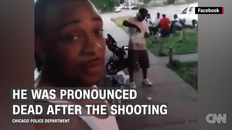 """بالفيديو: لحظة مقتل أمريكي خلال هجوم إطلاق نار ذيع مباشرة على """"فيسبوك"""""""