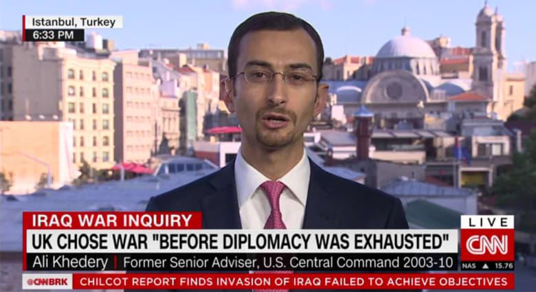 """""""تقرير تشيلكوت"""".. مستشار سابق للقيادة المركزية بالجيش الأمريكي لـCNN: قلت لبريمر أن العراق سيتحول لفيتنام آخر وهذا ما حصل"""
