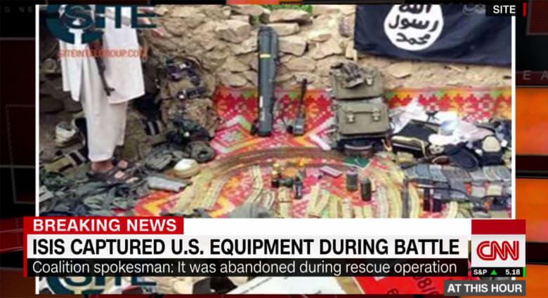 """البنتاغون: """"داعش"""" استولى على أسلحة أمريكية بعد انسحاب قواتنا من مواقعها"""