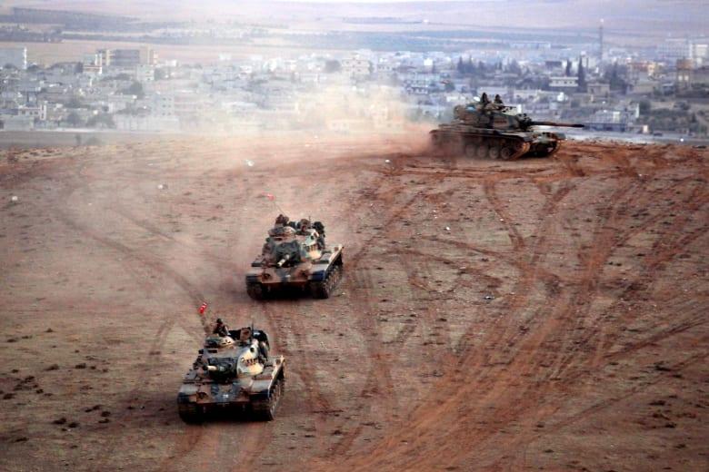 الجيش التركي يشن عملية عسكرية على جرابلس السورية