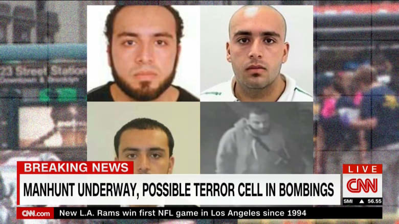 مسؤول لـCNN: المشتبه به بتفجير مانهاتن بعهدة الشرطة