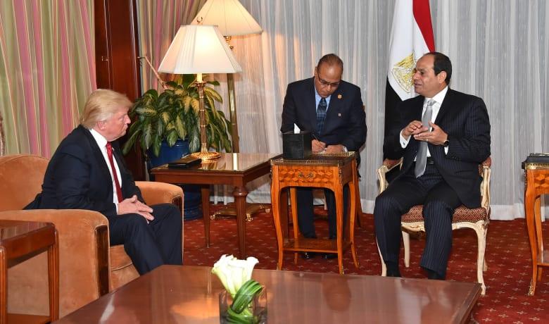 السيسي يستقبل دونالد ترامب بنيويورك.. والمرشح الجمهوري: تحت إدارتي ستكون أمريكا صديقةً وفيةً لمصر وليست حليفة فحسب