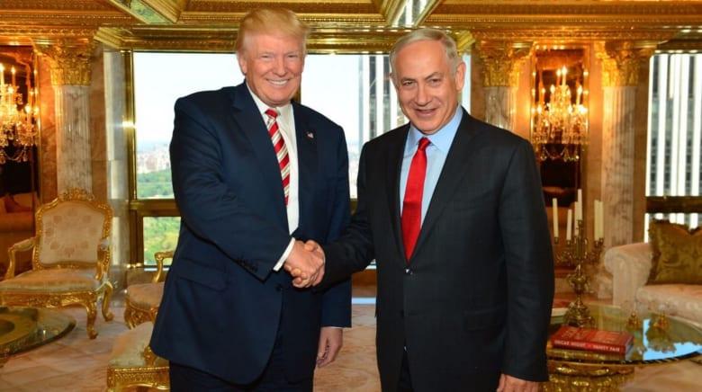 ترامب لنتنياهو: تحت إدارتي ستعترف أمريكا بالقدس عاصمة موحدة لإسرائيل