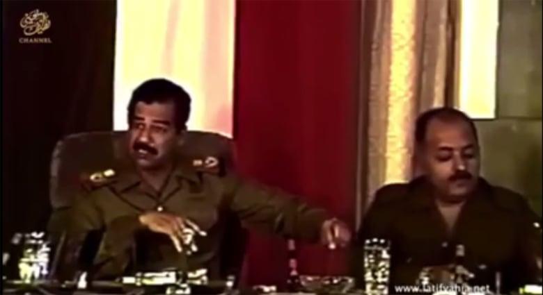 القاسم يستشهد بفيديو لصدام حسين: كشف إيران قبل ربع قرن