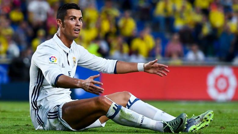 رونالدو يظهر غضبه في تدريبات الريال