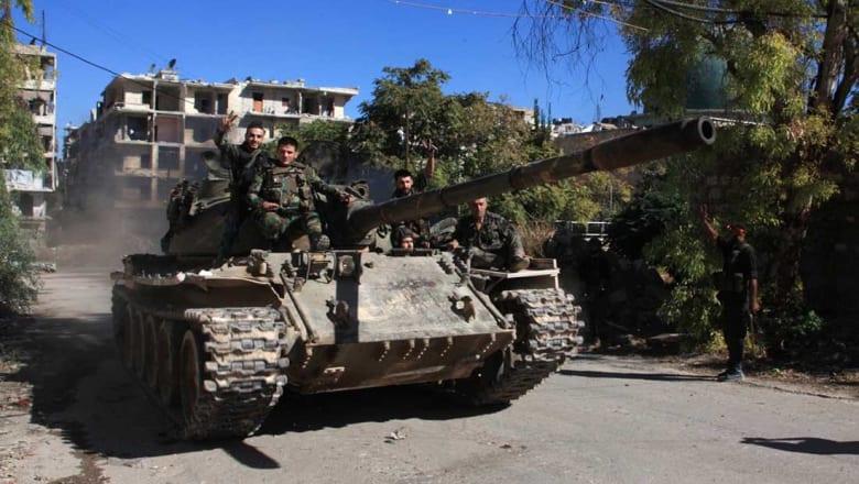 """جيش الأسد يدعو مسلحي المعارضة إلى """"الخروج الآمن"""" من شرق حلب"""