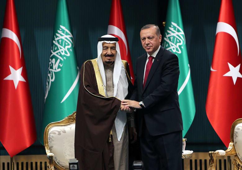 """أردوغان: سنقف مع السعودية قانونياً ضد """"جاستا"""""""