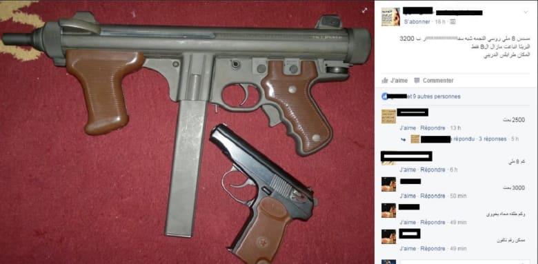 كيف تحوّل فيسبوك إلى سوق للمتاجرة بالأسلحة في ليبيا؟