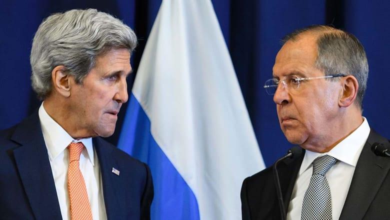 كيري: أفعال روسيا والنظام السوري تستدعي التحقيق في جرائم حرب