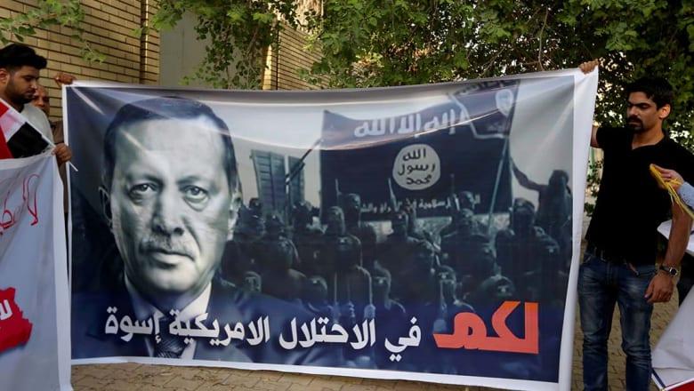 الحشد الشعبي يرد على تركيا.. ويتهمها بالسعي لاحتلال الموصل وتقسيم العراق