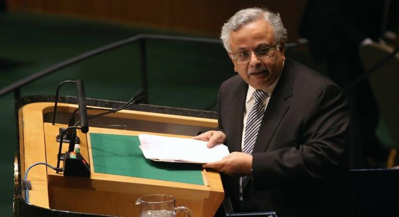 مندوب السعودية بـUN: تصويت مصر لصالح مشروع قرار روسيا مؤلم