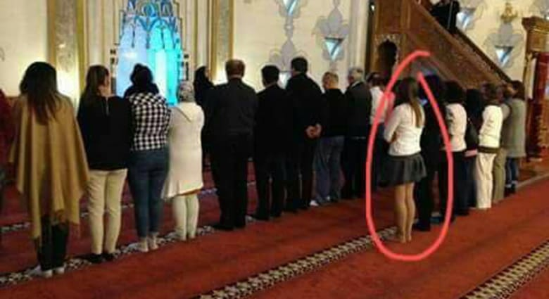 """القاسم ينشر صورة داخل """"مساجد الأسد بدمشق"""": ممنوع السجود"""