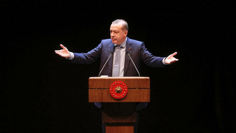 أردوغان: لن نسمح بمعارك طائفية في الموصل.. أو تسليمها لمنظمة إرهابية أخرى