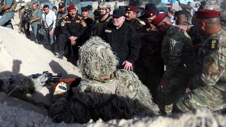 العبادي: عملية تحرير الموصل تسير حسب الخطة.. وسنحقق النصر