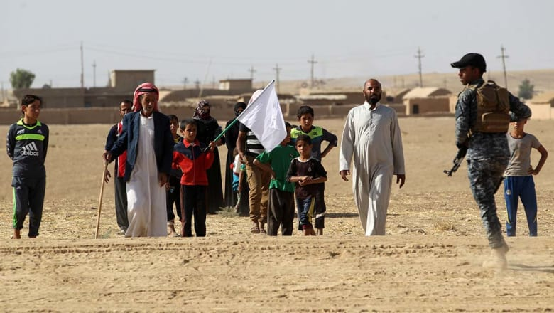 الأمم المتحدة: داعش خطف 550 أسرة لاستخدامهم كدروع بشرية في الموصل