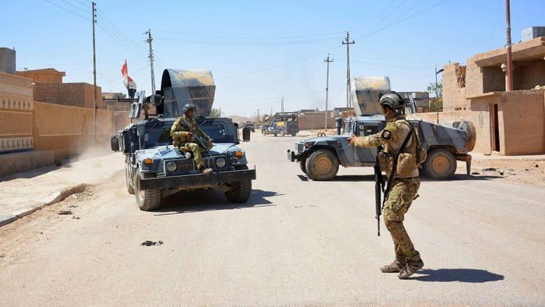 حظر تجول في الرطبة واشتباكات عنيفة بين داعش والقوات العراقية