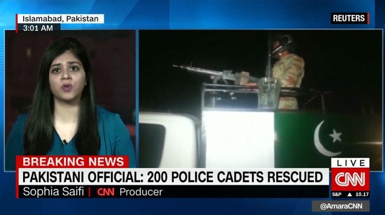 ارتفاع عدد ضحايا الهجوم على مركز تدريب الشرطة في باكستان إلى 60 قتيلاً و117 جريحاً