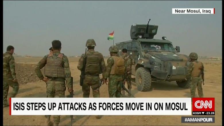شهود عيان لـCNN: المئات من مقاتلي داعش يصلون الموصل من الرقة