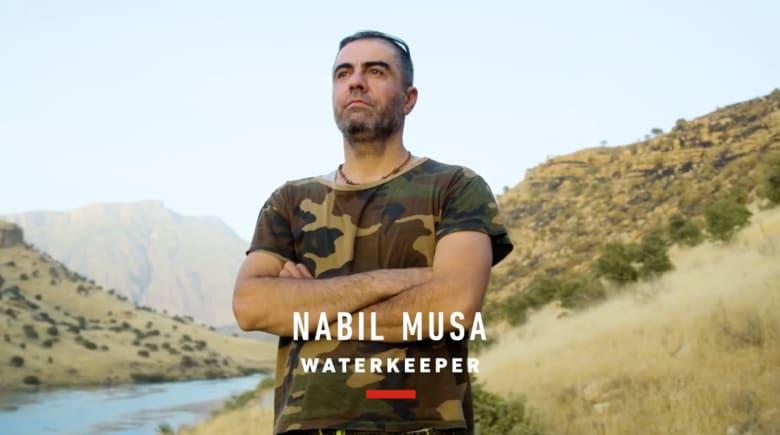 حامي نهر دجلة: متفائل بمستقبل العراق
