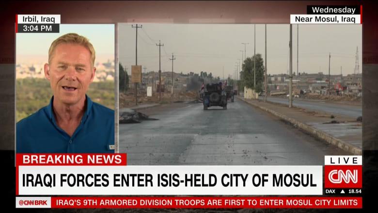 وزارة الدفاع العراقية لـCNN: دخلت وحدات من قوات الجيش العراقي الموصل لأول مرة منذ عامين