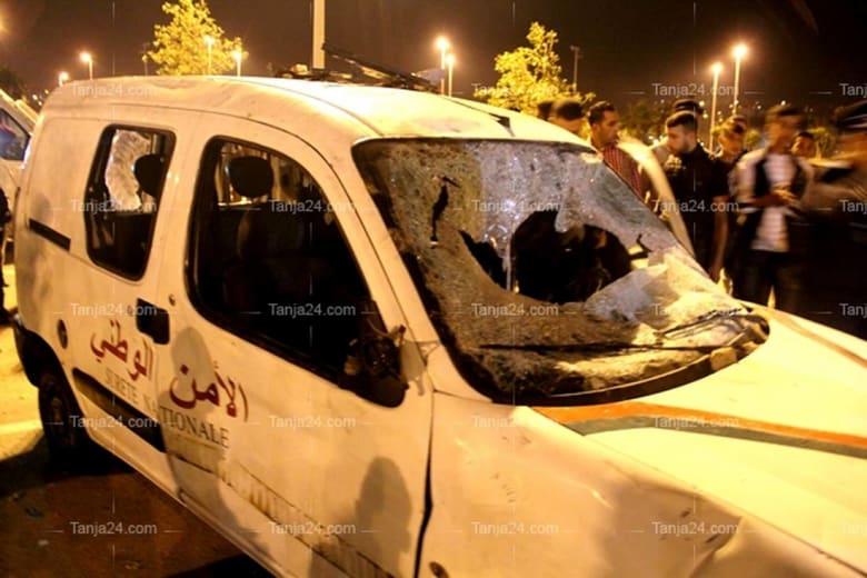 شغب ملاعب في طنجة بالمغرب.. إصابة رجال أمن واعتداء على الممتلكات