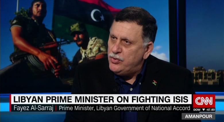 فايز السراج لـCNN: نحاصر داعش وتحديد موعد لتحرير سرت صعب