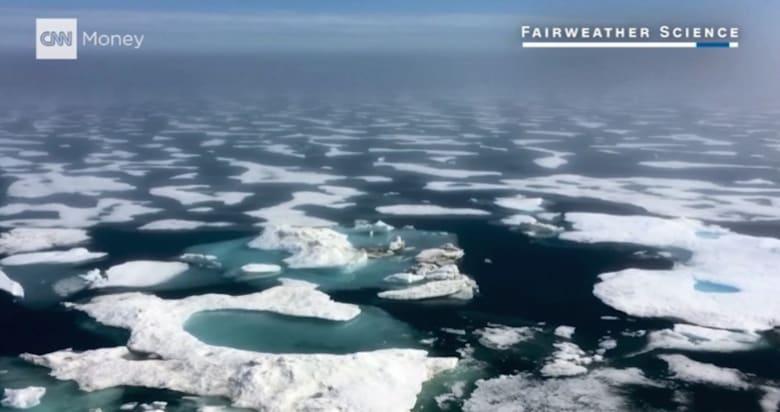 سفن تعتمد على طائرات بدون طيار للتنقل في المحيط المتجمد الشمالي