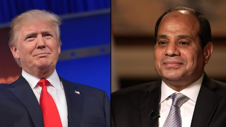 الرئاسة المصرية: نتطلع لضخ روح جديدة في العلاقات بفترة رئاسة دونالد ترامب لأمريكا