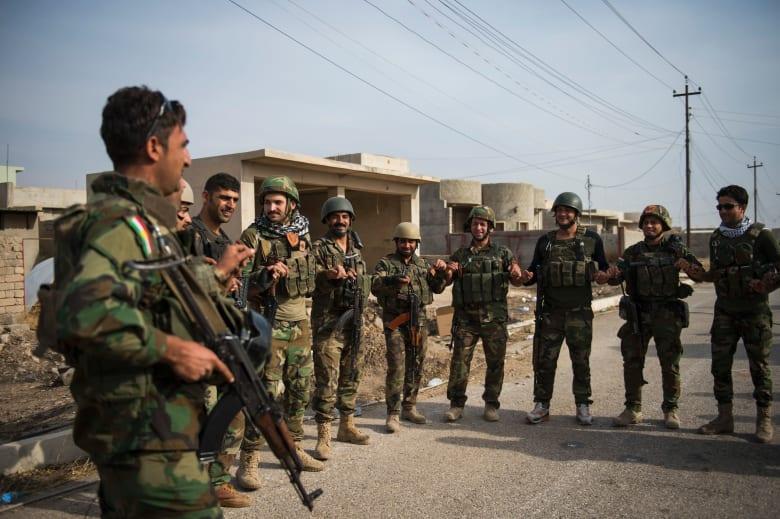 قائد في البشمرغة لـCNN: قتل 16 مقاتل من داعش قرب بعشيقة