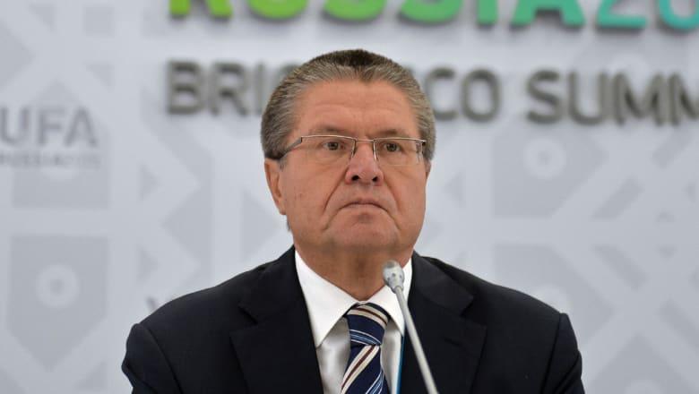 """توقيف وزير التنمية الاقتصادية الروسي """"بالجرم المشهود"""" بقضية رشوة"""