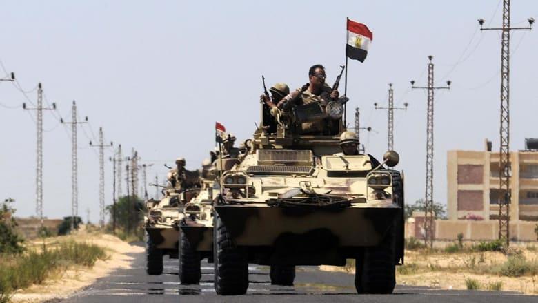 الجيش المصري: مقتل 8 جنود في هجوم بشمال سيناء