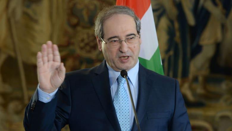 """المقداد: سياسة أمريكا بسوريا """"منحطة"""".. وموقف مصر قد يتغير"""