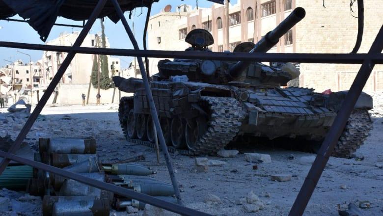 المعارضة السورية تخسر حي الصاخور بحلب أمام تقدم النظام والقوات الكردية