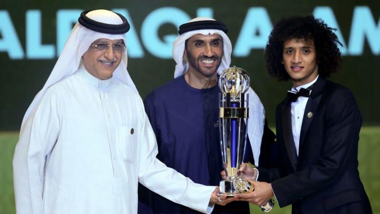 عمر عبدالرحمن لـCNN: فوزي بالجائزة هو فوز للإمارات وسننسى هزيمة جيونبوك مع الأيام