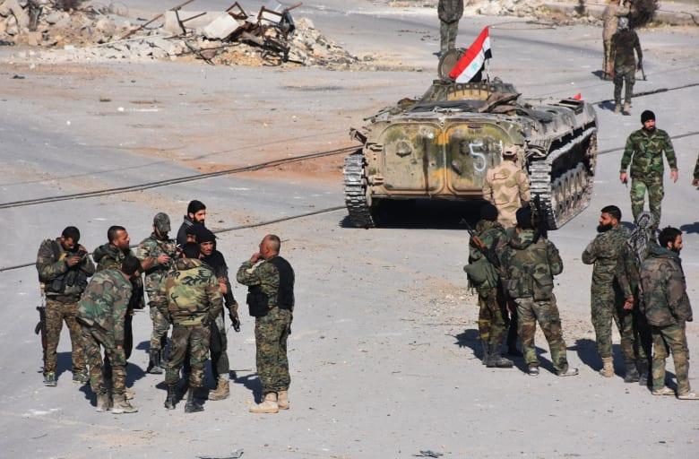روسيا: جيش الأسد أوقف عملياته في شرق حلب.. وأمريكا مستعدة للمشاركة بإخراج المسلحين من المدينة